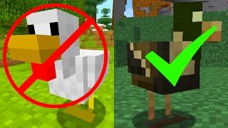 getlinkyoutube.com-Minecraft Xbox   Title Update 49   DUCKS REPLACE CHICKENS IN MINECRAFT!?