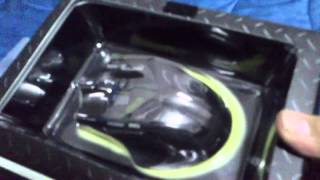 getlinkyoutube.com-(EVA GAMER)UNBOX  MOUSE anitech ZX850 Hyper Slash