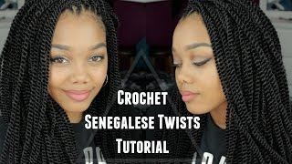 getlinkyoutube.com-TUTORIAL | CROCHET SENEGALESE TWISTS ∆ OUTRE + X-PRESSION