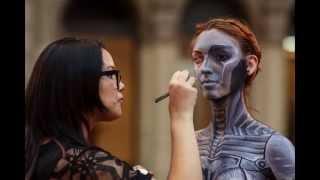 getlinkyoutube.com-II Concurso Nacional de Body Painting. Organizado por Expo-artistas. Auspició PINTAFAN