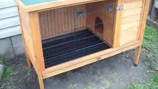getlinkyoutube.com-Video #22 - Rabbit Hutch Product Review and Modifications - 17 March 2012