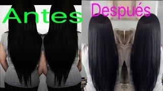 getlinkyoutube.com-Como cortar el cabello para que te crezca  largo y sano ✂️