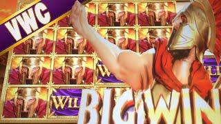 getlinkyoutube.com-★★ $2 BET / BIG WINS ★★ LEONIDAS: KING OF THE SPARTANS - INCREDIBLE TECHNOLOGIES SLOT MACHINE