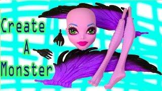 getlinkyoutube.com-Create A Monster High Harpy Girl Doll Add On Starter Pack CAM Playset Set Cookieswirlc