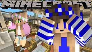 Minecraft-Little Carly-HIDING FROM LITTLE KELLY!!