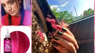 getlinkyoutube.com-How to Temporarily Dye Your Hair | Pink Hair! 💖