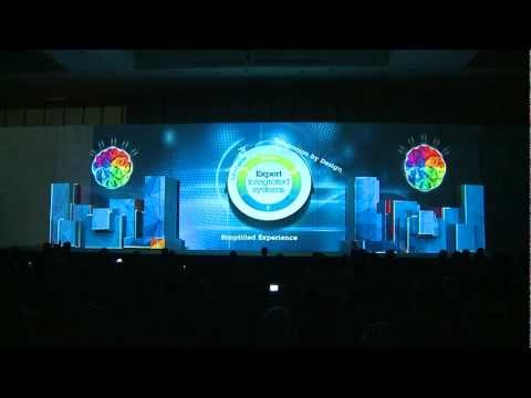 Stage 3D Video Mapping, Product Launching - IBM Conference &amp; Exhibition 2012