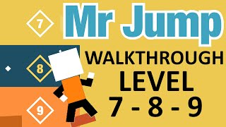 getlinkyoutube.com-MR JUMP Walkthrough | Level 7, Level 8, Level 9 Complete Stage Run | iOS Gameplay (iPhone, iPad)