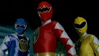 getlinkyoutube.com-Power Rangers Dino Thunder - First Morph and Fight