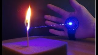 getlinkyoutube.com-Blue burning Laser Glove Mk III