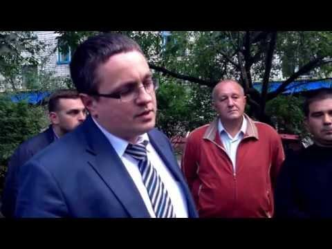 Дзержинского 92а протестует