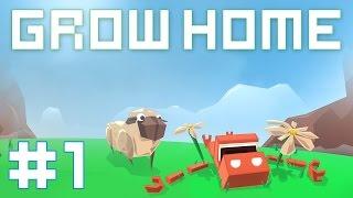 getlinkyoutube.com-Grow Home - Прохождение на русском [#1]