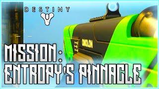 getlinkyoutube.com-Destiny The Taken King - Entropy's Pinnacle Mission Gameplay WALKTHROUGH