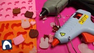 getlinkyoutube.com-【工作】グルーガンと樹脂粘土をシリコン型に入れてパーツを作ってみました
