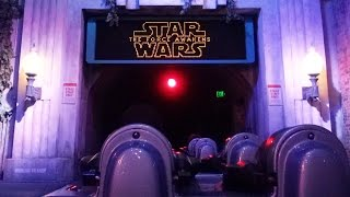 Star Wars Rock 'N' Roller Coaster at The Force Awakens Special Event, FULL POV Multi Ride Experience