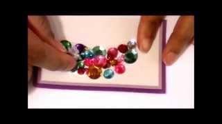 getlinkyoutube.com-DIY Gemstone Shoe Clip