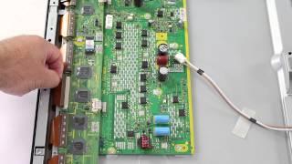 getlinkyoutube.com-Plasma TV Repair Horizontal Lines - How to Diagnose Causes, Symptoms and Problems Overview Help