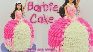 getlinkyoutube.com-How to make a Barbie Doll Princess Cake Tutorial. Bake and Make with Angela Capeski
