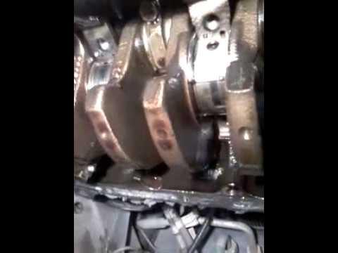 Замена коренных и шатунных вкладышей без снятия двигателя и коленвала