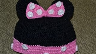 Шапочка микки мауса (beanie Mickey and mini mouse)