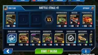 getlinkyoutube.com-Jurassic World the Game - Fighting for Ostafrikasaurus!!