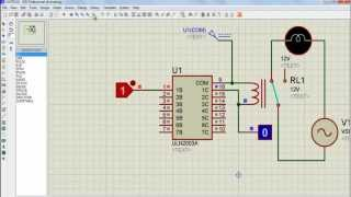 getlinkyoutube.com-How to control relay using ULN2003A