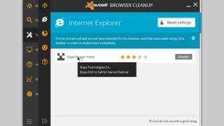 getlinkyoutube.com-Browser Cleanup Tool in avast!Free 2014.