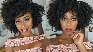 getlinkyoutube.com-HOW TO: My 10 minute PERFECT TWIST OUT!!! || Jessica Pettway