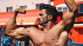 getlinkyoutube.com-Sergi Constance VLOG 12 Cheat Day + Muscle Beach workout