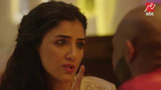 getlinkyoutube.com-الأسطورة | حلقة 17 | مشهد كوميدي بين شهد و ناصر...لكنها تشعر بأنه سيتزوج عليها