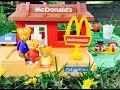 Rare MCDONALDS Fisher Price Restaurant Play Place with DANIEL Tiger Toys!