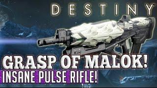 getlinkyoutube.com-Destiny | How to get the Grasp of Malok! - Insane Taken King Pulse Rifle!