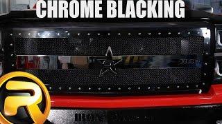 getlinkyoutube.com-How to Paint Chrome Black