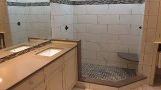 getlinkyoutube.com-Complete bathroom install start to finish time lapse