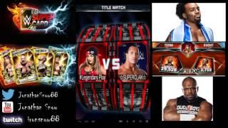 getlinkyoutube.com-WWE Supercard Season 2 #8 Thank you Video/Team Pcc Grind