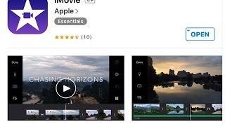 getlinkyoutube.com-شرح برنامج الايفون iMovie دمج الفيديو و الصور و الصوت بإحتراف