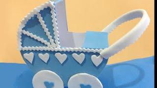 getlinkyoutube.com-Carrito para bebes con moldes