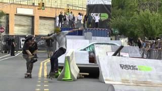 getlinkyoutube.com-Trevor Colden's Winning Run from Skate Streetstyle, Toyota City Championships Brooklyn 2014