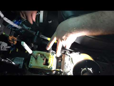 Блокиратор коробки передач, дополнительная защита от угона, установка на ... C5 (Ситроен С5)