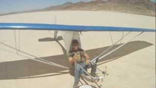 getlinkyoutube.com-Super Floater Flight - Soggy Dry Lake  06-03-12
