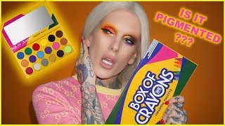 BOX OF CRAYONS EYESHADOW PALETTE... Is It Jeffree Star Approved??