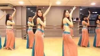 "getlinkyoutube.com-Belly Dance Class ""Habibi Ya Eini"" Choreography @ DancePot, KL"
