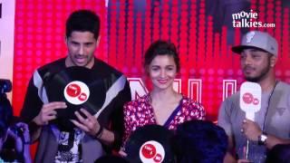 getlinkyoutube.com-Alia Bhatt- Sidharth Malhotra, Coke Studio @ MTV Season 7 Launch