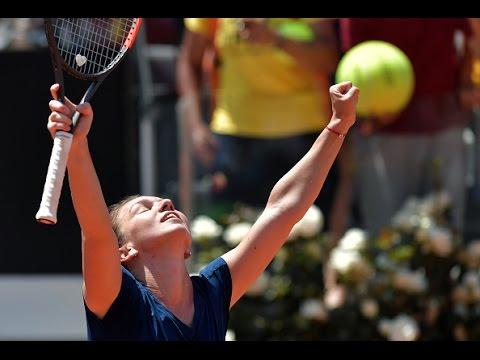 2017 Internazionali BNL d`Ita Quarterfinals | SImona Halep vs Anett Kontaveit | WTA Highlights