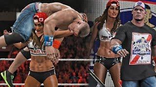 getlinkyoutube.com-WWE 2K17 - Nikki Bella Turns on John Cena