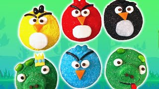 getlinkyoutube.com-ANGRY BIRDS CUPCAKES - NERDY NUMMIES