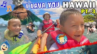 getlinkyoutube.com-♫ I LAVA YOU ♫ Kids Scuba Diving & Kayaking Near Hawaii Volcano (FUNnel Vision Trip - Maui Part 3)