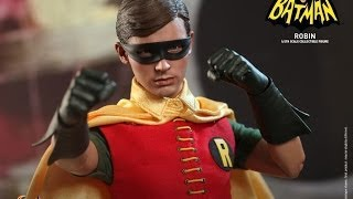 getlinkyoutube.com-Batman Classic TV Series Hot Toys Robin Movie Masterpiece 1/6 Scale Collectible Figure Review