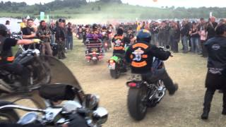 getlinkyoutube.com-Super Rally ballenstedt 2012 Bandidos ride out