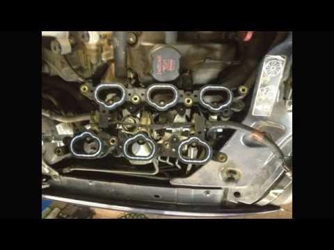 Jaguar X-Type Замена прокладок впускного коллектора